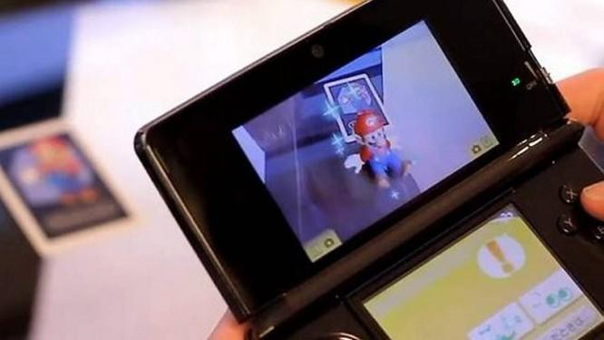 Nintendo 3DS tem jogos com recursos de realidade aumentadas Foto: Reprodução