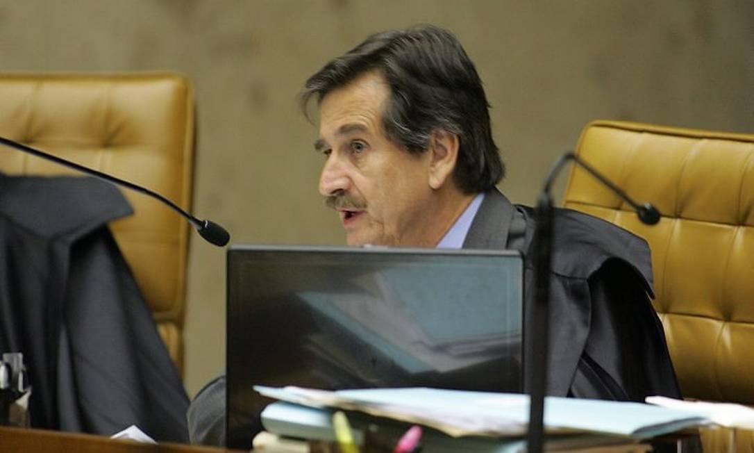 O persidente do STF, ministro Cezar PelusoFoto de Ailton de Freitas