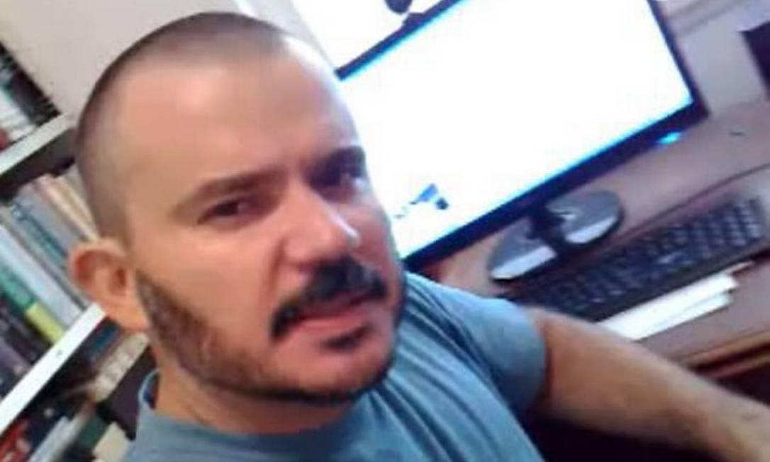 Blogueiro Ricardo Gama. Foto: reprodução internet