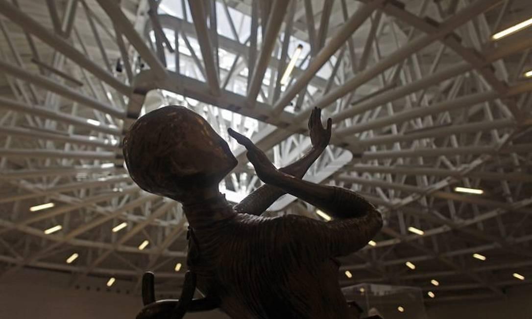 Obra de Salvador Dalí no novo Museu Soumaya, na Cidade do MéxicoDario Lopez-Mills, da AP