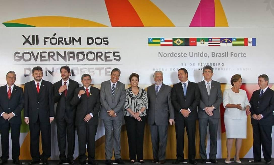 A presidente participou do encontro com os governadores do Nordeste - Foto: Roberto Stuckert FilhoPresidência da República