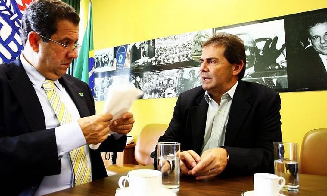O ministro do Trabalho e o deputado federal Paulinho da Força (PDT-SP)Foto de Aílton de Freitas