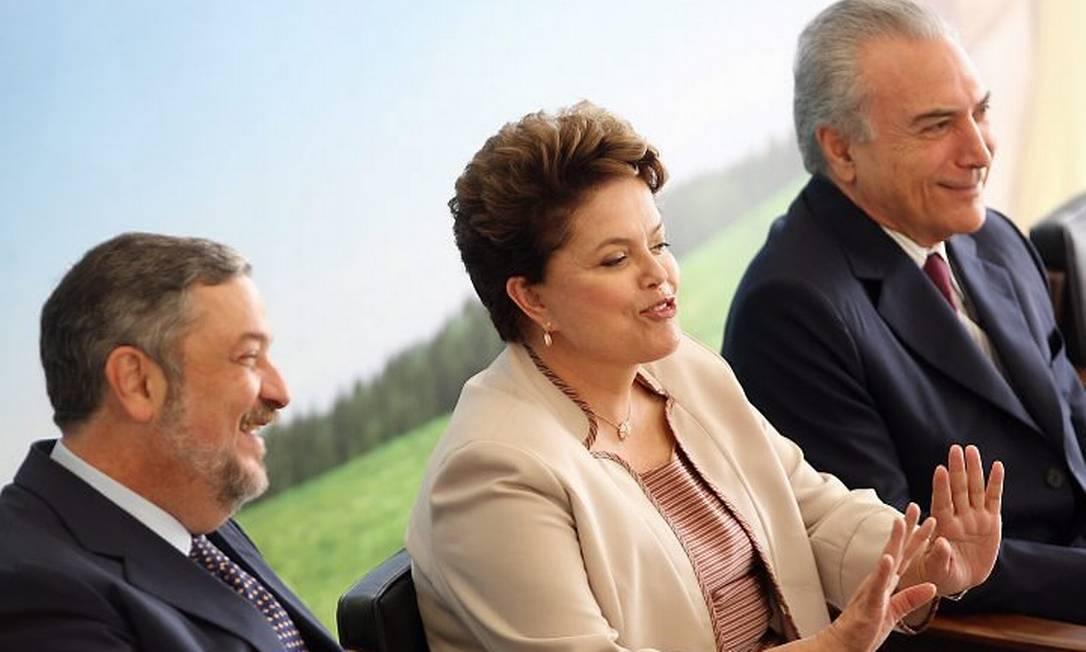 A presidente Dilma Rousseff durante o evento - Foto de Gustavo Miranda