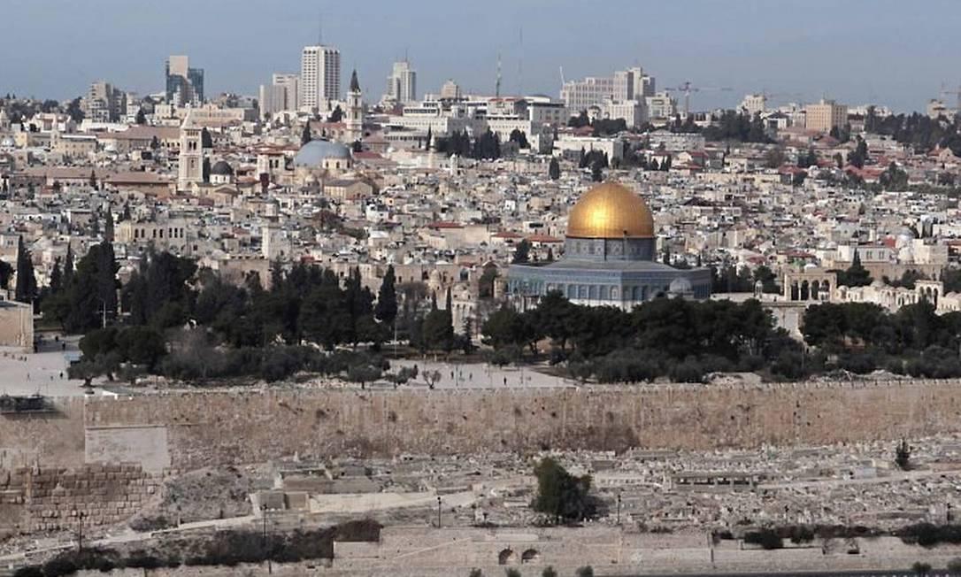 Vista de Jerusalém - Reuters
