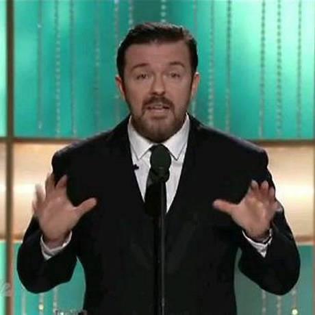 Ricky Gervais apresentou a cerimônia do Globo de Ouro