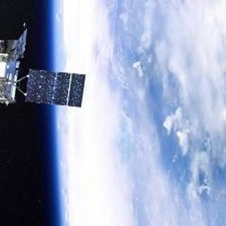 O satélite Glory vai estudar os efeitos da irradiância solar total e dos aerossois no clima da Terra. Foto: Nasa
