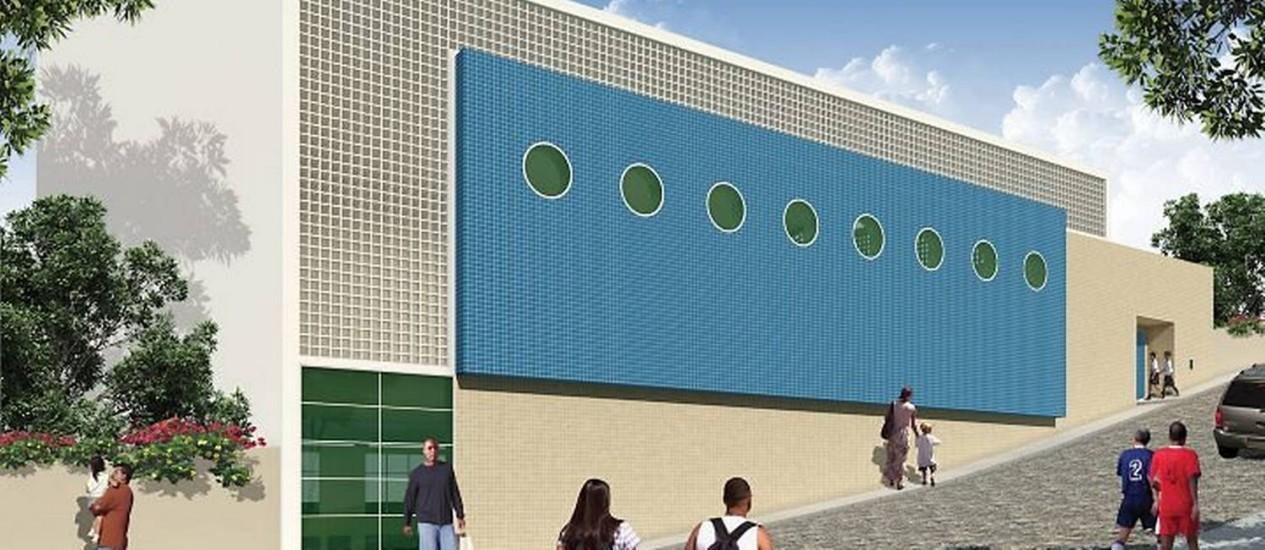 Detalhes do projeto para o Morro da Providência