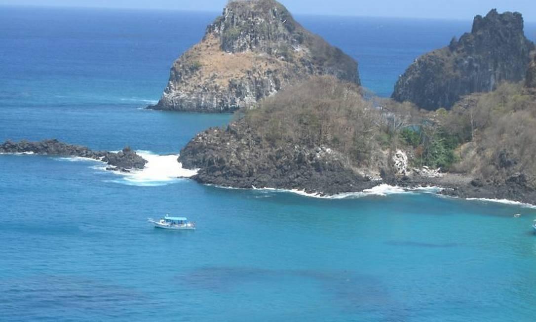 'Azul Noronha', um tipo de tonalidade que só se vê no arquipélago de Fernando de Noronha: visibilidade de até 50 metros Foto: Luciana Fróes