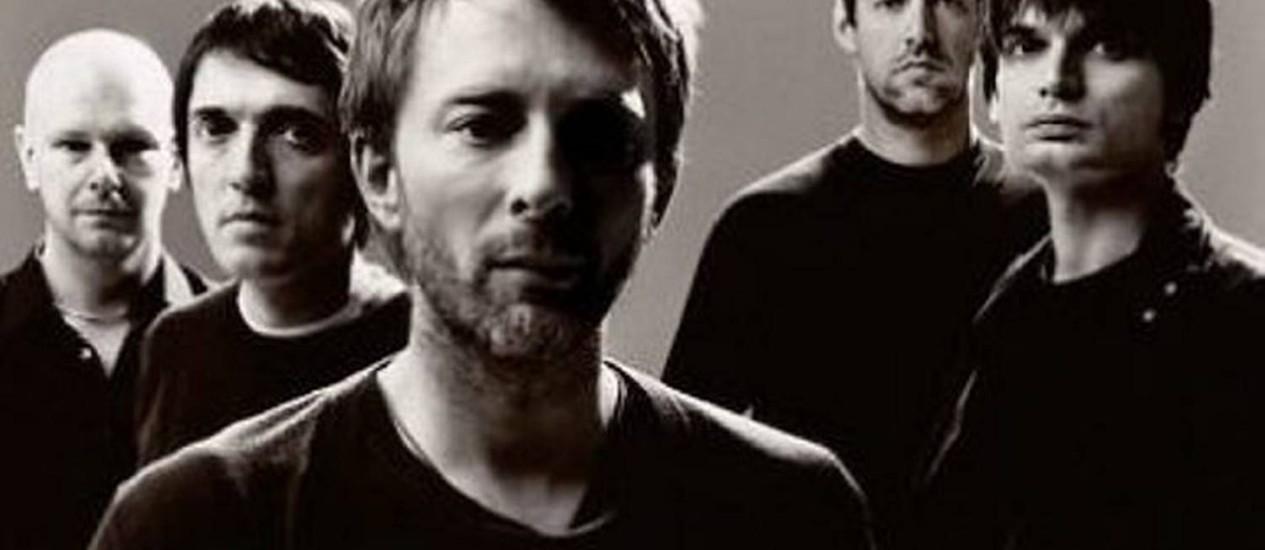 O grupo Radiohead Reprodução