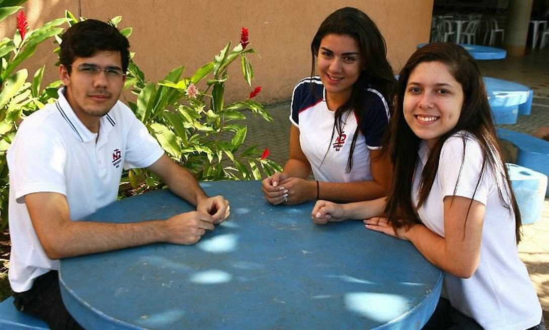 Bianca, Isabella e Marcos: brancos em horas decisivas Foto de Angelo Antônio Duarte