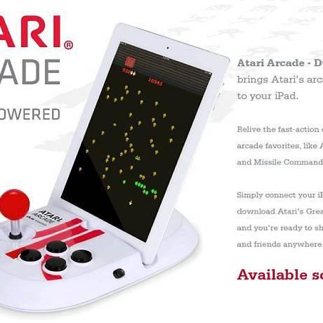 Controle 'Atari Arcade' para iPad Foto: Reprodução