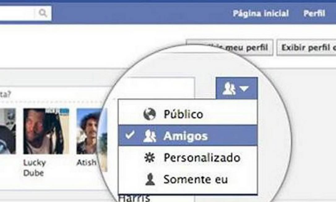 Facebook facilita configurações de privacidade Foto: Divulgação