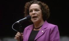 A deputada Fátima Pelaes, do PMDB, em foto da Agência Câmara