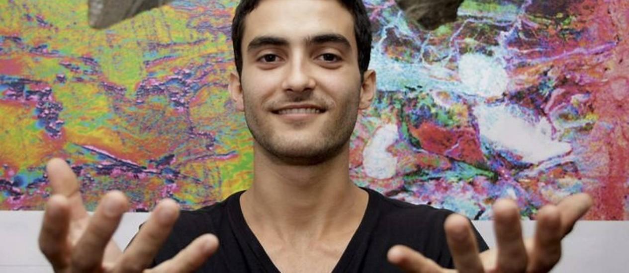 Gabriel Coutinho estuda Geologia na UFRJ e estagia no CPRM Pedro Kirilos