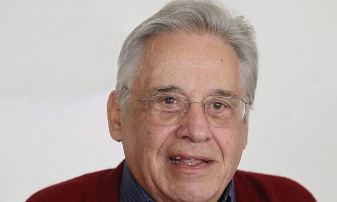 O ex-presidente Fernando Henrique Cardoso em foto de Marcos Alves