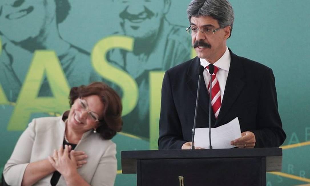 Cerimônia de posse dos ministros Luiz Sérgio (Pesca) e Ideli Salvatti . Foto: André Coelho