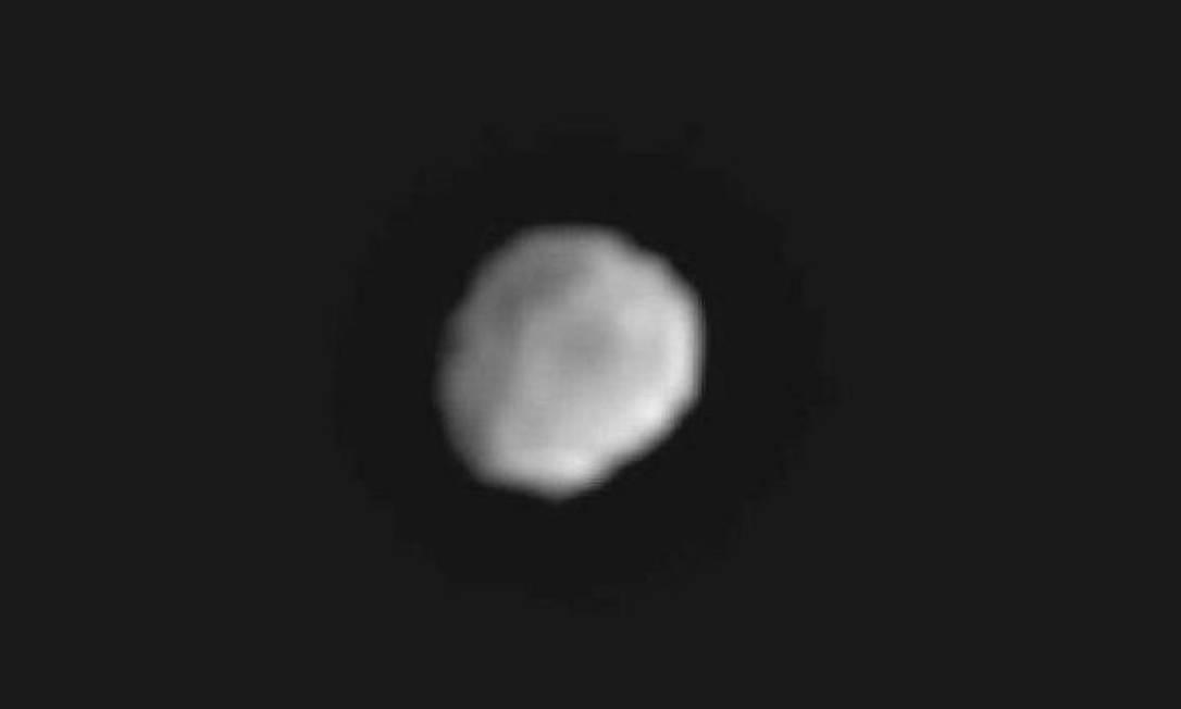 Imagem do asteroide gigante Vesta captada pela sonda Dawn, da Nasa. Foto: Divulgação Nasa