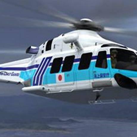 Helicóptero que desapareceu na Bacia de Campos é um modelo Augusta AW-139