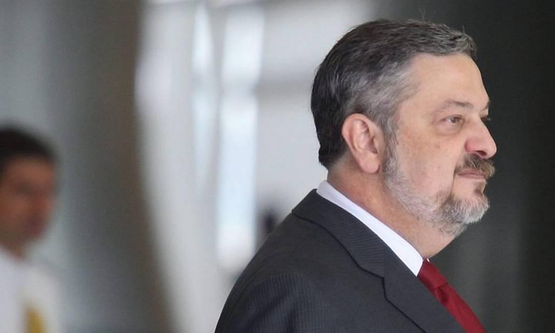 O ministro Antonio Palocci - Foto de André Coelho