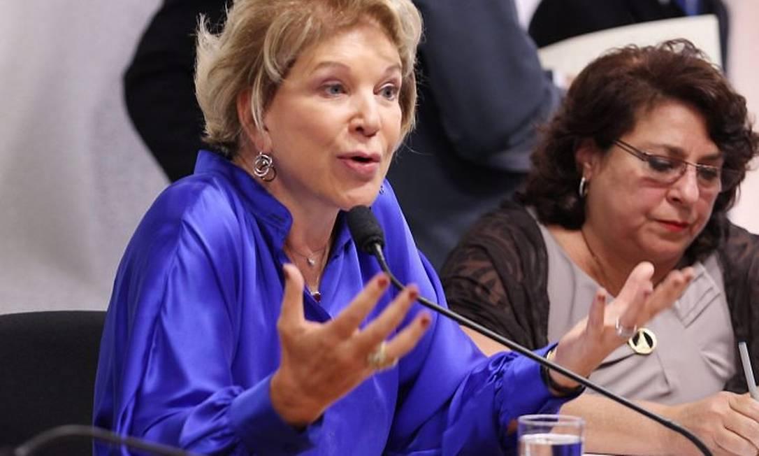 A senadora Marta SuplicyFoto de Andre Coelho