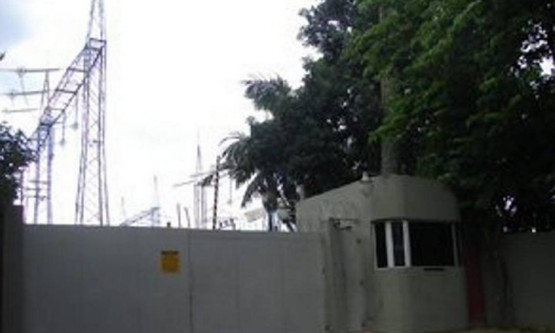 Subestação Bandeirantes onde problema em transformador causou apagões em SP - Foto Roberta SteganhaG1