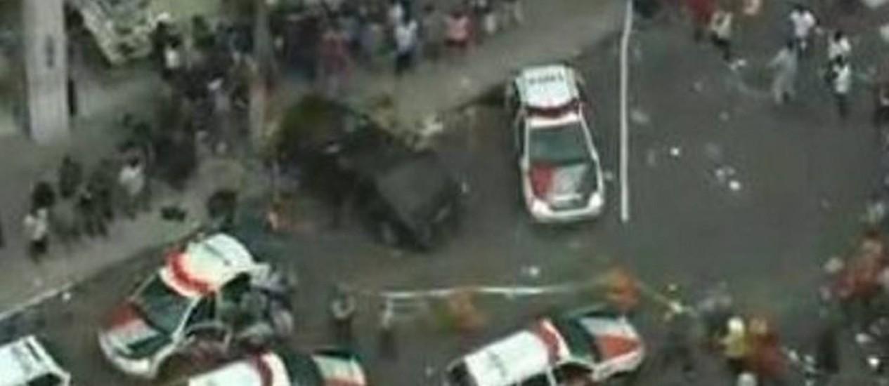 Reprodução de imagem TV Globo