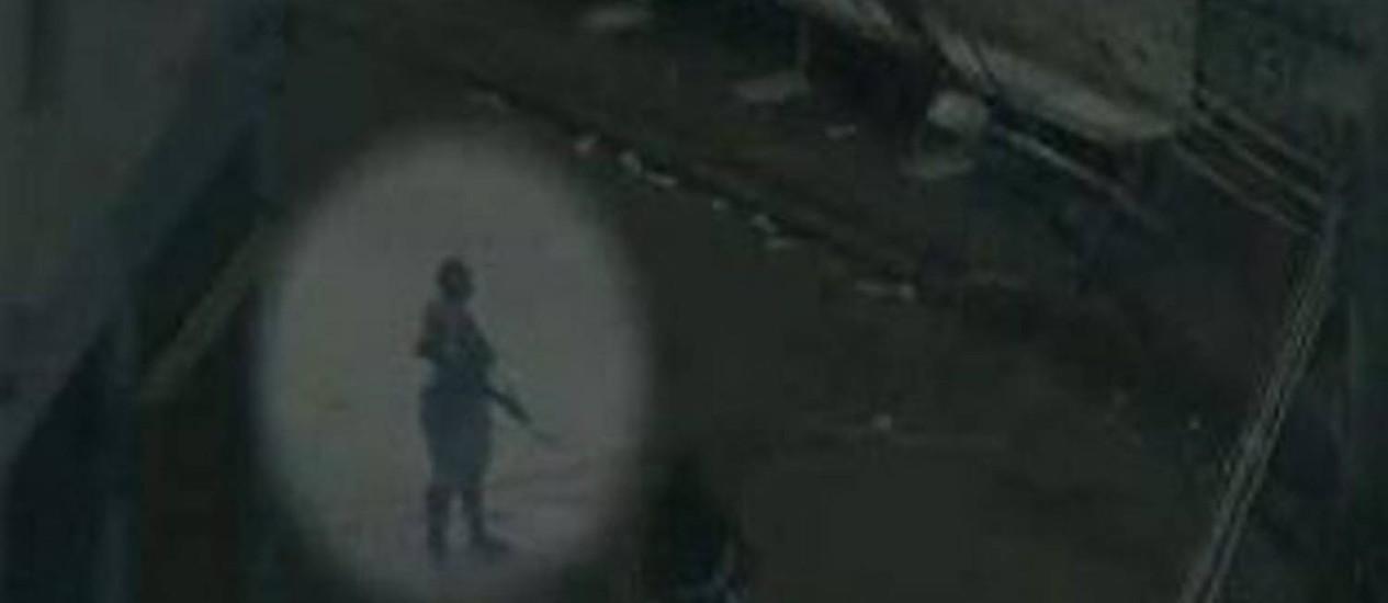 Traficantes armados com fuzil no Morro São Carlos Foto: Reprodução