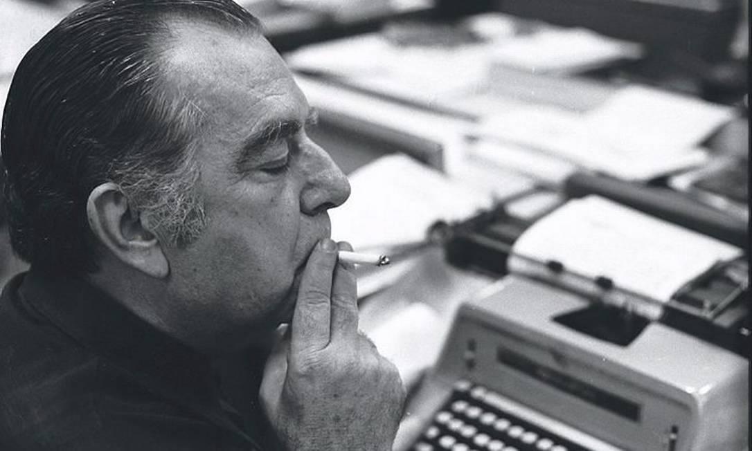 Nelson Rodrigues: homenagens culminarão com centenário de seu nascimento, em 2012 Arquivo O Globo