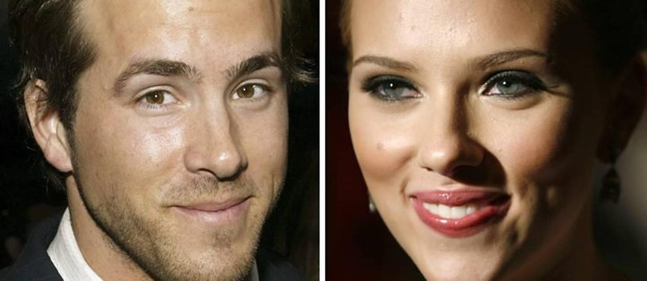 Ryan Reynolds e Scarlett Johansson se separam Reuters