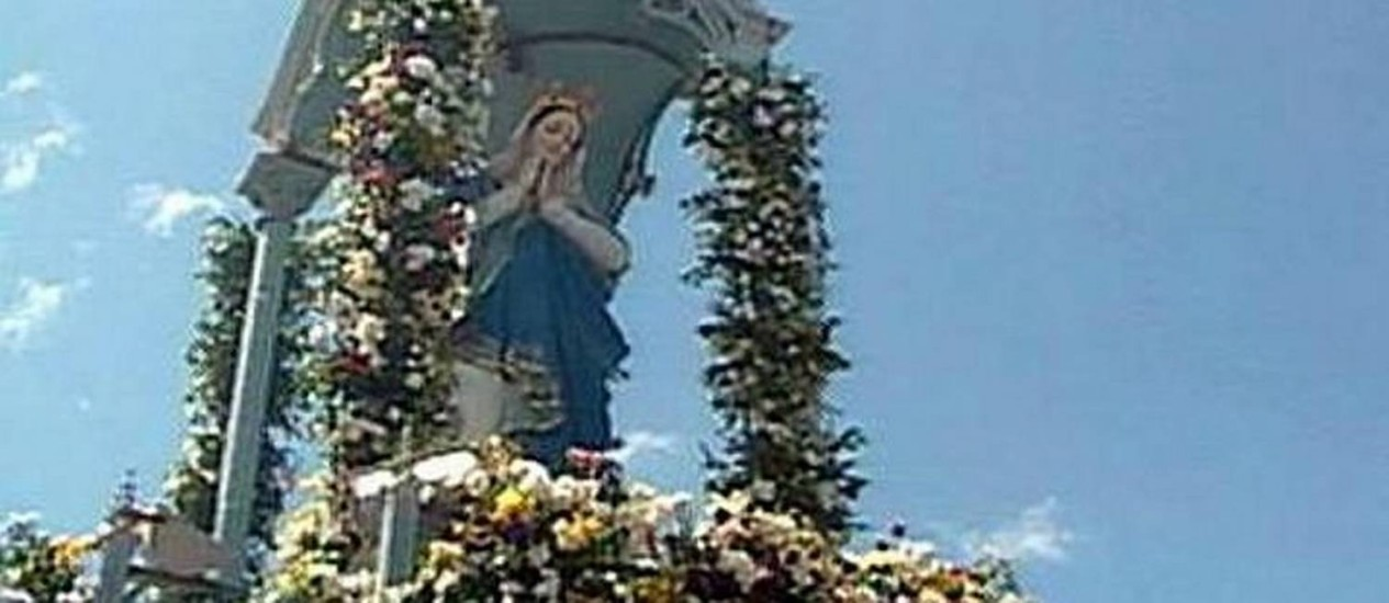 Missas e procissão no Recife para homenagear Nossa Senhora da conceição - Reprodução pe360grausafiliada TV Globo