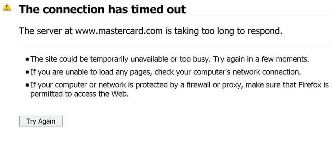 Página da MasterCard atacada por hackers que defendem o WikiLeaks Reuters