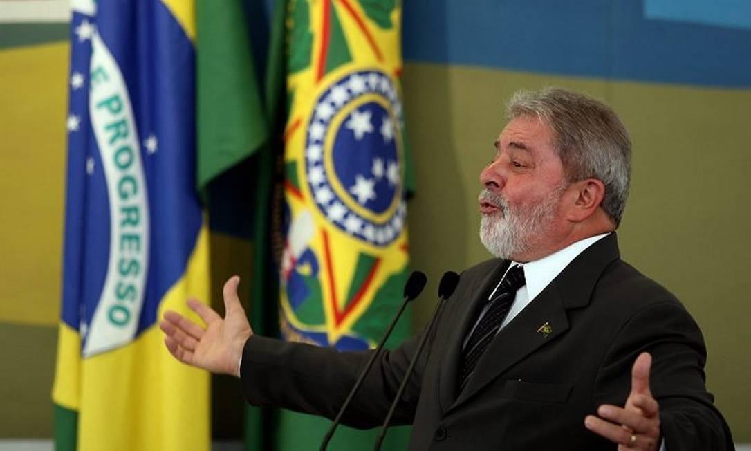 Lula discursa ao se despedir do CDES. Foto: Gustavo Miranda