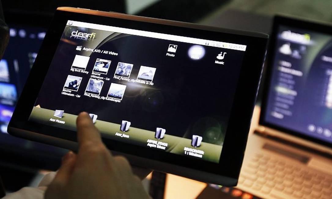 Tablet da Acer Reuters