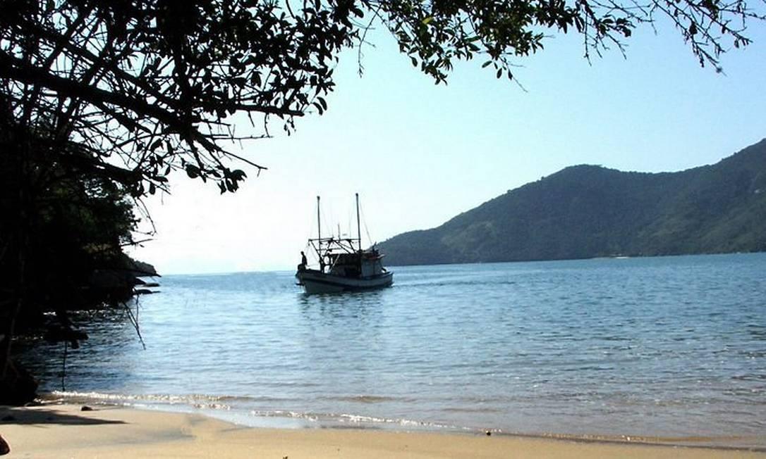 Praia no Saco de Mamanguá, em Parati-Mirim, o único fiorde do litoral brasileiro Divulgação: Luciana Matos