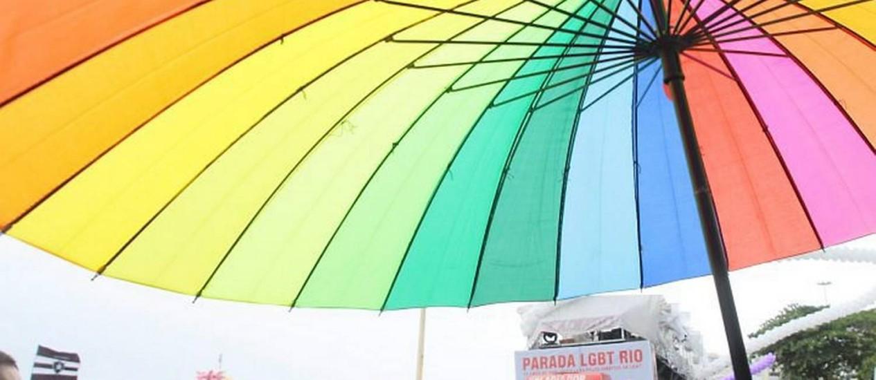 Parada Gay em Copacabana. Foto de Pedro Kirilos Agencia O Globo