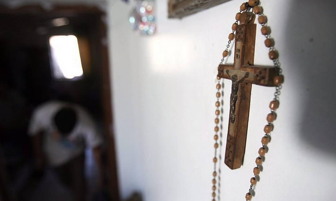 Casa de família cristã no Iraque AFP