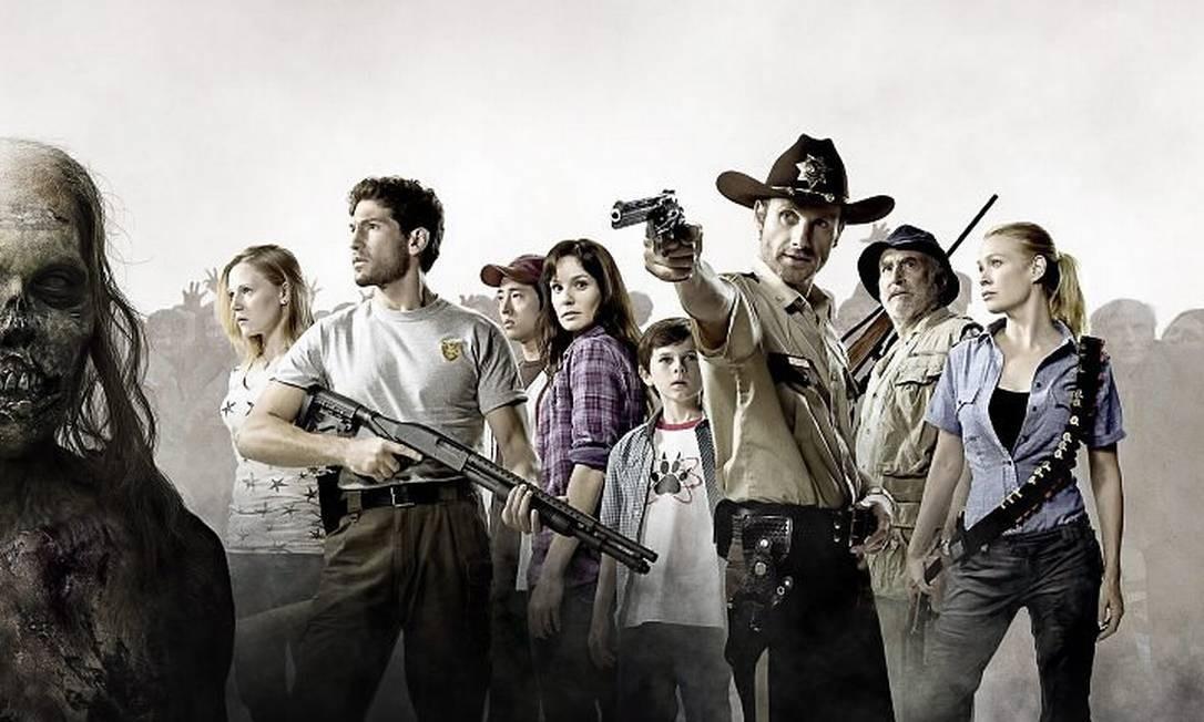 Sucesso de audiência, 'The walking dead' terá segunda temporada