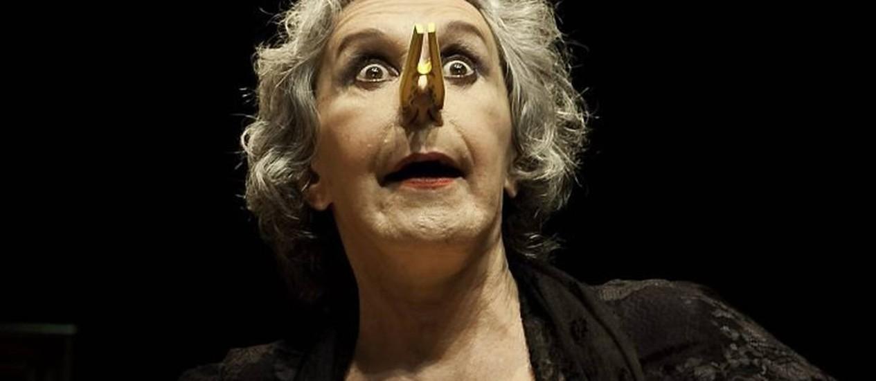 Peça 'As três velhas', com Maria Alice Vergueiro - DivulgaçãoFábio Furtado