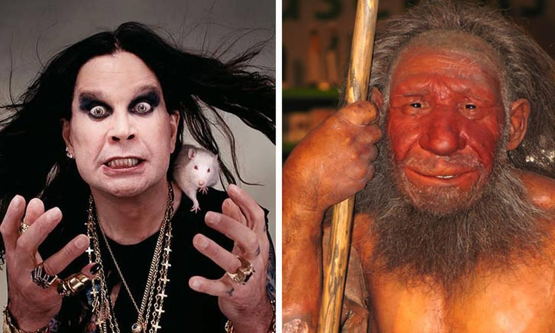Ozzy Osbourne e seu parente distante