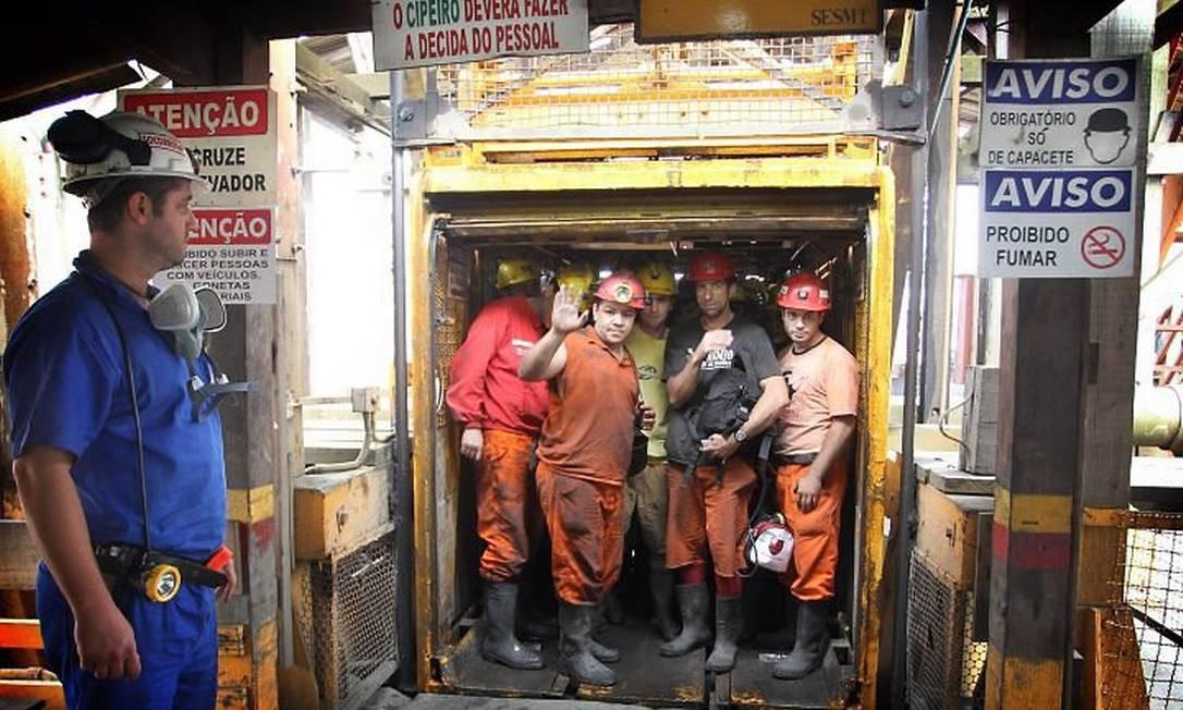 Cresce o número de acidentes nas minas de carvão no estado de Santa CatarinaMarcia Folleto