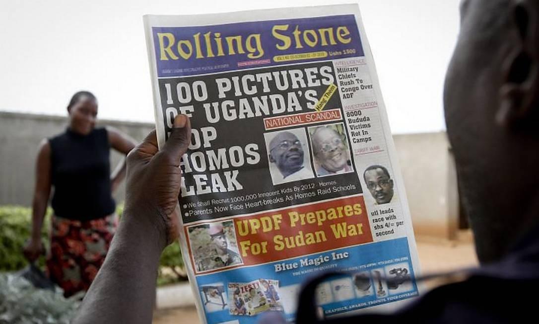 Jornal pede morte a gays AP
