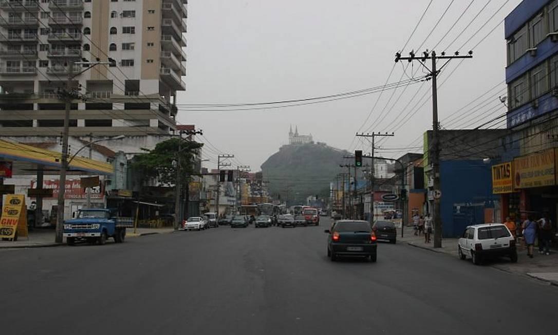 Rua na Penha onde o segundo trecho da Transcarioca cai começar. Foto: Marco Antonio Cavalcanti - O Globo