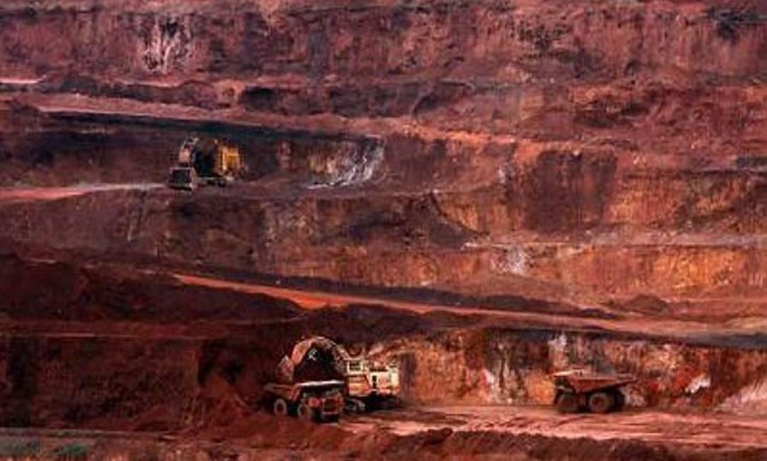 Mina de ferro de Carajás, no Pará: governo quer que Vale invista cada vez mais em projetos siderúrgicos Michel Filho6-12-2007