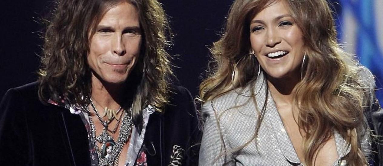 Steven Tyler e Jennifer Lopez são anunciados como jurados do 'American Idol' Reuters