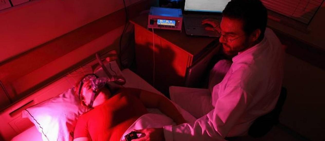 Exames diagnosticam os distúrbios do sono. Foto: Arquivo