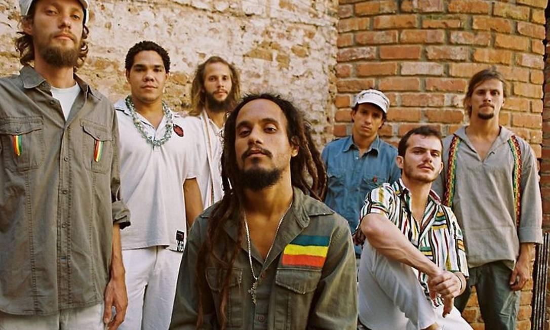 Banda de reggae Ponto de Equilíbrio Divulgação Fernando de Mello