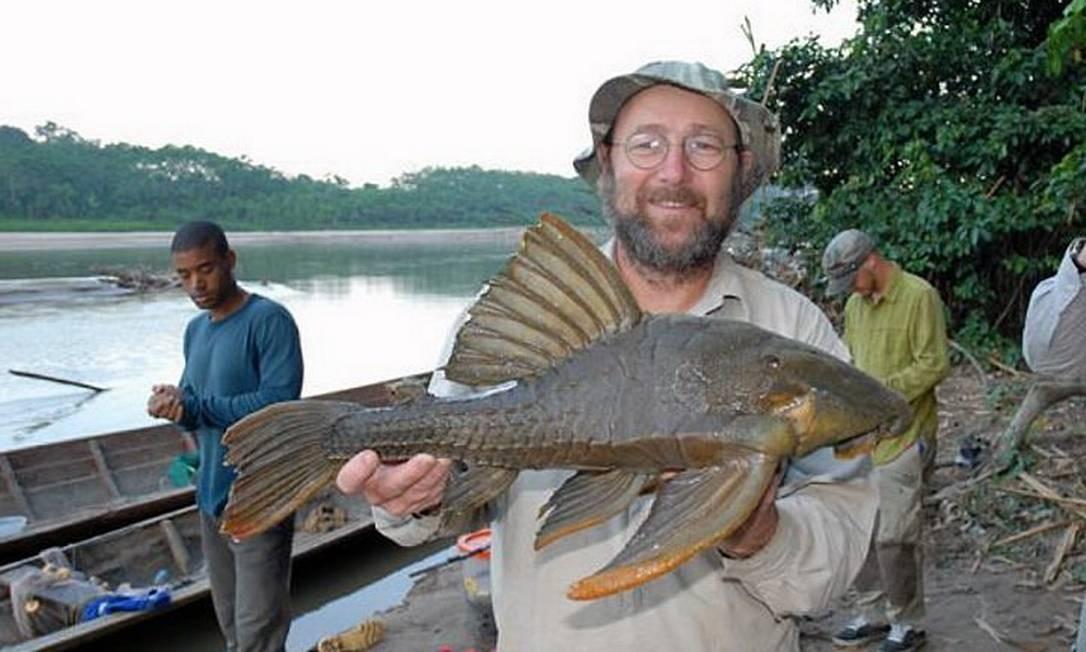 Indígenas na região do Purus já conheciam a espécie registrada por cientistas.Foto Paulo Petry Arquivo PessoalGlobo Amazônia