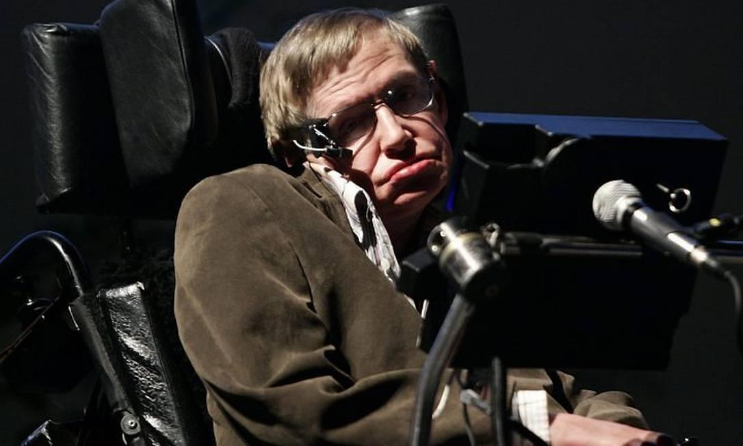 Stephen Hawking. Foto: Arquivo