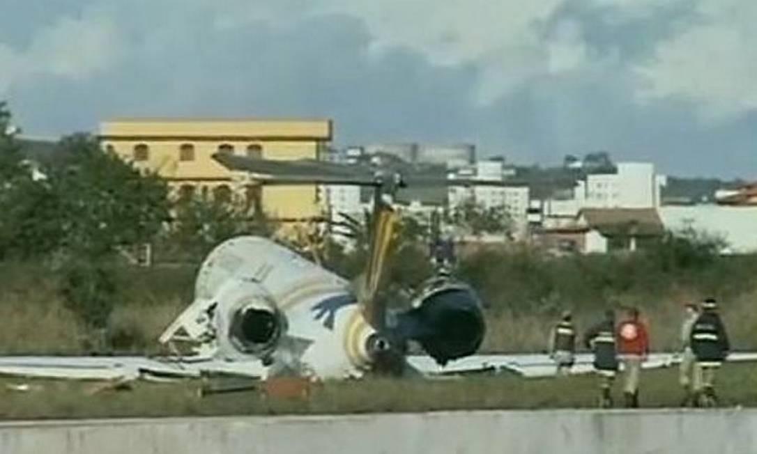 Aeronave fabricada pela Embraer é a terceira a se envolver em acidente em apenas 3 dias.Foto Divulgação