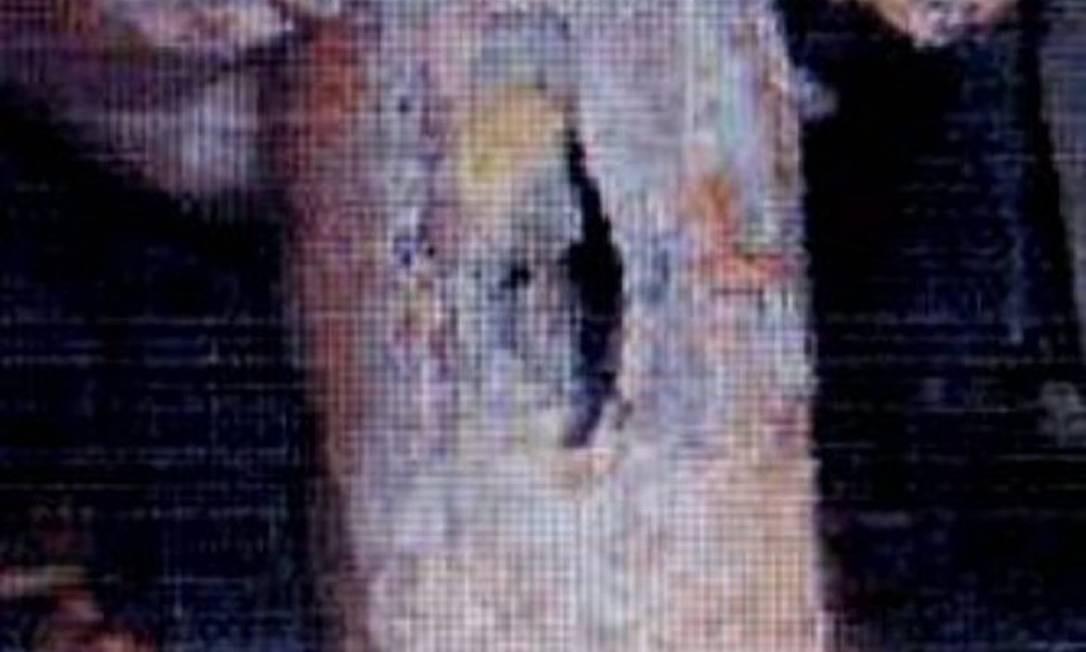 Foto mostra tubulação em estado precárioReprodução